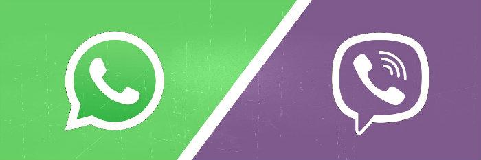Что лучше Viber или WhatsApp?
