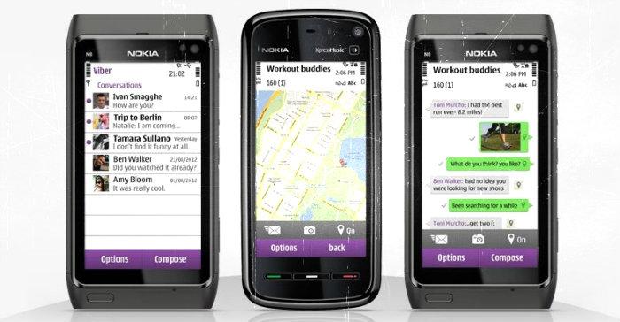 Viber для Symbian